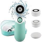 Koovon Impermeable Eléctrico Limpieza Facial Cepillo