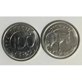 Moeda De 100 Cruzeiros De 1994 Lobo Guará Rara