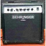 Guitarra Amplificador Y Pedalera Behringer