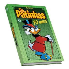 Livro Disney Os 70 Anos Do Tio Patinhas, Capa Dura