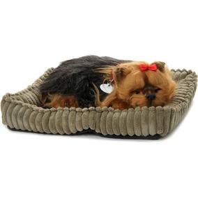 Filhote Yorkie Shire Perfect Petzzz Cachorro Pelucia Respira