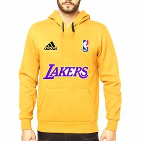 Blusa Moletom Casaco Canguru Lakers Basquene Nba Stars 6c0b11b74f0