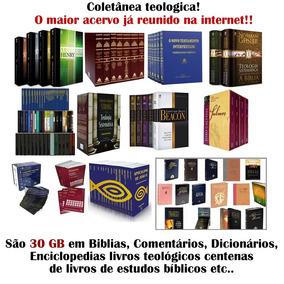 Coletânea Teológica São 30 Gb De Material Para Você!
