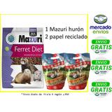 Alimento Mazuri Huron 2.2kg +2 Papel Reciclado+envio Gratis