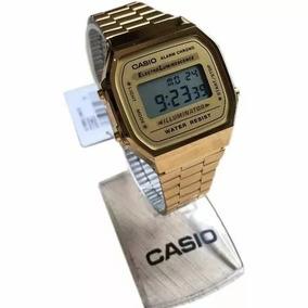 4a8afb80c6e Relogio Casio A168 Original Masculino - Relógios De Pulso no Mercado ...