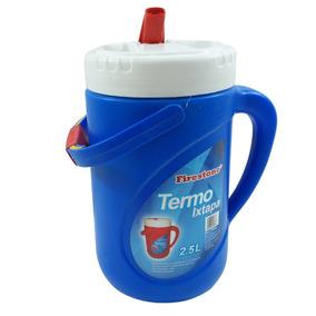 Termo Agarradera Plastico Agua Caliente Fria 2.5l Firestone