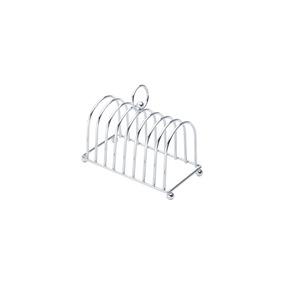Porta-torradas De Ferro Cromado Lyor 19x10x15cm Lyor
