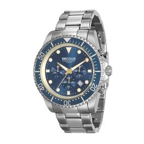 d4323bf630c Relógio Seculus 13024g0svna3 - Relógios De Pulso no Mercado Livre Brasil