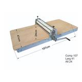 Maquina De Corte E Vinco Manual 41cm Reforçada Industrial