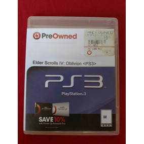 The Elder Scrolls Iv: Oblivion Pre Owned Ps3 Frete R$10