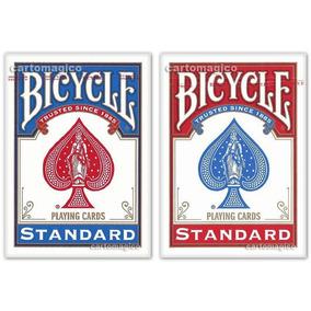 2 Baralhos Bicycle Standard - Azul E Vermelho