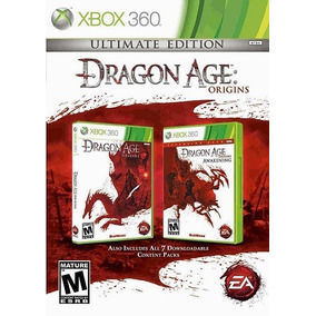 Jogo Dragon Age Origins Ultimate Edition Xbox360 Ntsc Origin
