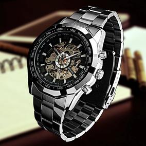 18d1224326c5 Reloj Silvana Automatico - Relojes Pulsera Masculinos Skeleton en ...