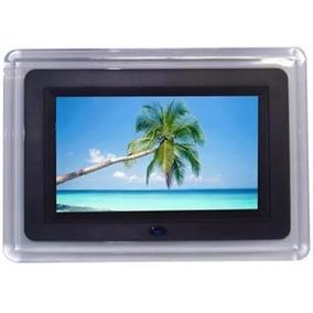 Porta Retrato Digital 7 Pol Lcd Videos Usb Mp3 C/ Controle