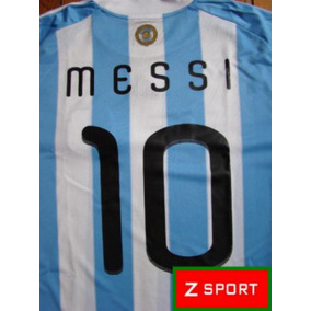 Estampados Numeros Afa adidas Argentina Mundial Sudafrica 85ea0ff1b7e4c