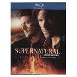 Supernatural - A Décima Temporada Completa * Blu-ray * *4 Dv