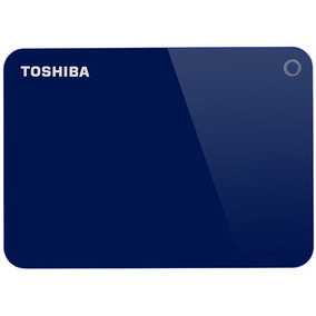 Hd Externo 1tb Toshiba Canvio Advance V9 5400rpm Usb 3 Blue
