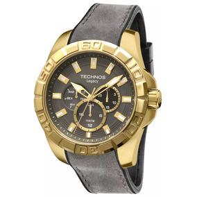 8e7d238e071 Relogio Techno Pulseira Couro Masculino - Relógio Technos Masculino ...