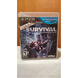 Cabelas Survival Shadows Of Katmai Ps3 Playstation 3 Od.st