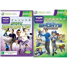 Combo Jogos Kinect Sports + Kinect Sports Season 2 Xbox 360