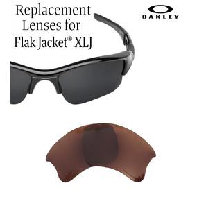 c7ff73e4e0 Micas De Reemplazo Oakley Flak Jacket Xlj Color Dark Bronze