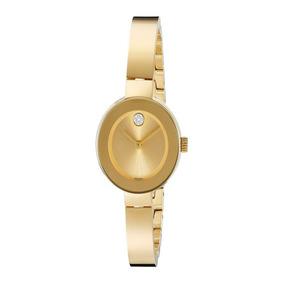 Reloj Movado 3600285 Acero Inoxidable Dorado Mujer