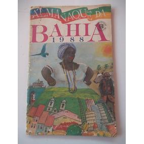 Almanaque Bahia 1988 Bom Estado