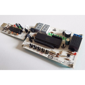 Kit Microcontrolador 8051 At89s52 Usbasp Arduino Shield