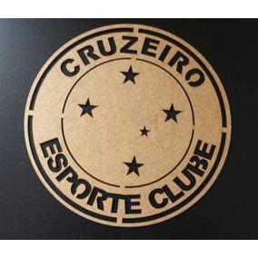 d3e85ee693 Escudo Cruzeiro Mdf - Arte e Artesanato no Mercado Livre Brasil