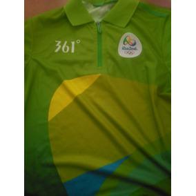 d38dcadb5f Uniforme Voluntários Jogos Olímpicos Rio 2016