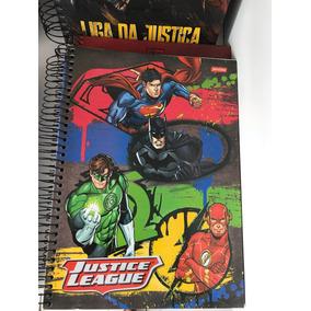 Caderno Liga Da Justiça 10m