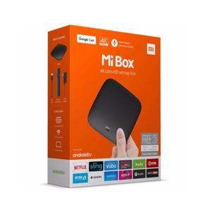 Tv Box Xiaomi Mi Box Tv 4k Ultra Hd Android Google Cast