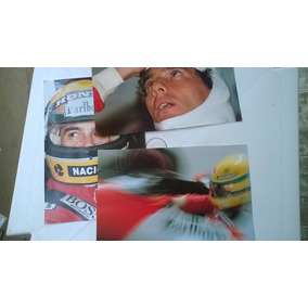 3 Pôsters Ayrton Senna