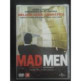 Dvd Mad Men 1ª Temporada - Original Lacrado