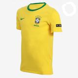 Camiseta Nike Torcedor Cbf 888989-749 Masculina Original