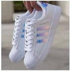 e71c939d6a3 Tenis Adidas Superstar Todo Azul Masculino Nike - Tênis no Mercado ...