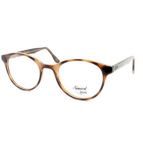 d9fcd963adff0 Armação Para Óculos De Grau Smart Redondo Original -108