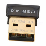Micro Adaptador Usb Bluetooth Csr 4.0 Windows Linux Mac Osx