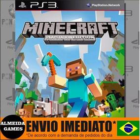 Ps3 Minecraft Edition Mídia Digital Português Envio Rapido