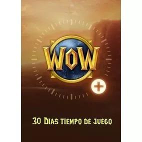 Wow Token - Ficha - Bfa - Ow - D3 - Hs - 30 Dias De Juego