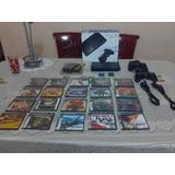 Playstation 2 Excelente Condición Con 2 Controles Y Juegos