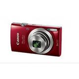 Cámara Digital Canon Powershot Elph 180 Rojo 20 Mpx Hd