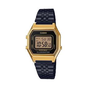 8b250f4aa87 Casio Gold Black Unissex - Relógios De Pulso no Mercado Livre Brasil