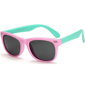 Óculos De Sol Infantil Flexível Lente Polarizada 2-10 Anos f991477cce