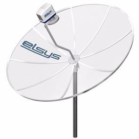 Antena Parabolica+receptor+controle+cabos