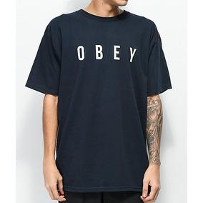 Camiseta Obey -camisa T-shirt - Lançamento -super Promoção 7b5a224411a