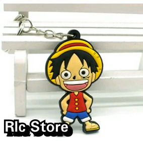 Chaveiro One Piece D Luffy Silicone Pvc