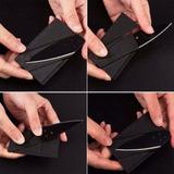 Canivete Cartão De Bolso Acampamento Trilha Tatico Cardsharp