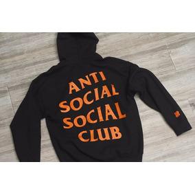Sudaderas Anti Social Social Club - Sudaderas y Hoodies Con Gorro de ... 2d8fef4494c