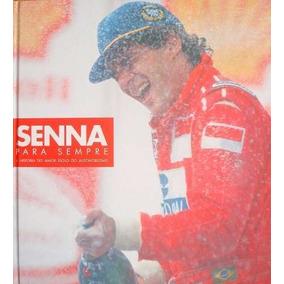Livro Senna Pra Sempre - Colecionável Shell